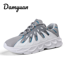 Damyuan 2019 Mens Running Shoes Outdoor Breathable Comfortable Fitness Shock Absorption Trainer Sport Gym Sneaker Zapatillas