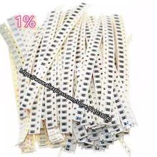 100 unids/lote tipo Chip 91R-180R 0201, 1%, 0402, 0603, 0805, 1206, 1210, 2010, 2512 91R 100R 110R 120R 130R 150R 160R 180R gran oferta