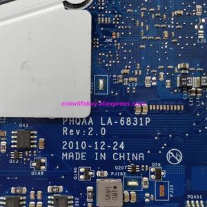 Image 5 - אמיתי K000125640 PHQAA LA 6831P w N12P GS A1 GPU מחשב נייד האם Mainboard עבור Toshiba לווין P750 P755 נייד