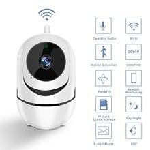 Mini Drahtlose PTZ IP Kamera WIFI Home Security Surveillance Wifi Kamera Mit IR Nacht Vision Bewegen Erkennung Handy Bedienen