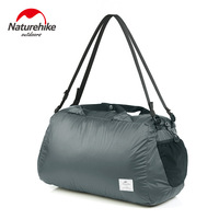 Naturehike-Bolsa de gimnasio deportiva, bolso ultraligero plegable de 32L, impermeable, Unisex, bolso para el tiempo libre, bolsa de hombro de viaje NH19SN005