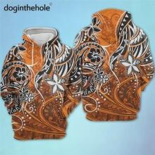 Doginthehole Гавайский закат оранжевый aloha принт женские свитшоты