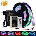 Светодиодный скачки светильник RGB Цвет беговые кроссовки nikeeinglys Сменные Светодиодные ленты 5 м с 133 программа RF контроллер Праздничные огни ...