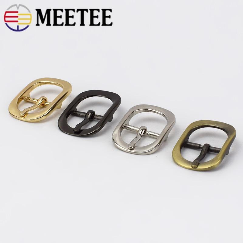 5/10pcs 20mm Men Women Metal Belt Buckles Bags Shoes Pin Buckle Handbag Strap Clasp DIY Leather Crafts Sewing Accessories