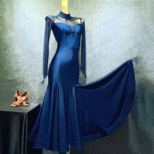 Costume Ballroom-Dresses Cloth Patchwork-Performance Latin Dancing Women New Chacha T008