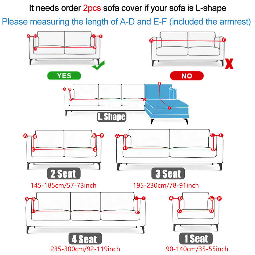 Black Stripe Elastic Sofa Cover For Living Room Modern Sectional Corner Sofa Slipcover Couch Cover Chair Protector 1 2 3 4seater Sofa Cover Aliexpress Ukuran sofa 2 seat