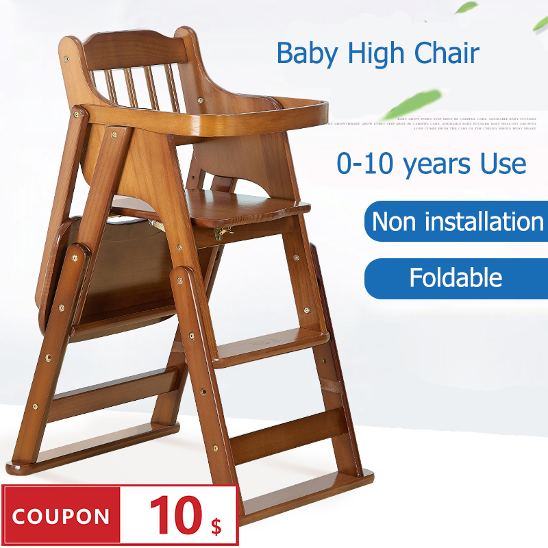Tremendous 6F3C9C Buy High Chair Baby Wooden And Get Free Shipping Spiritservingveterans Wood Chair Design Ideas Spiritservingveteransorg