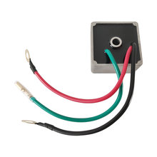 Untuk Mobil Golf Voltage Regulator EZ Pergi Golf Cart Voltage Regulator OEM #27739G01 Replacement-EPIGC111 Satu Lubang Hitam abu-abu(China)