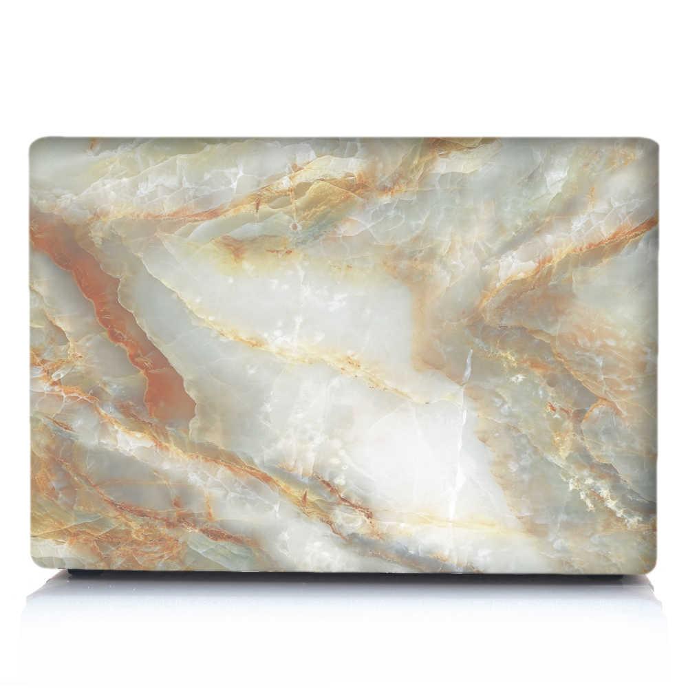 Étui pour ordinateur portable en marbre pour APPle MacBook A1932 Air 13 Pro Retina 11 12 13 15 pour Mac Book 15.4 13.3 tablette tactile A2159 + housse de clavier