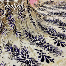 High quality african flower lace fabric Embroidered lace fabric sewing DIY craft trim Ribbon dress guipure accessory 1 yard high quality african flower lace fabric embroidered lace fabric sewing diy craft trim ribbon dress guipure accessory 1 yard