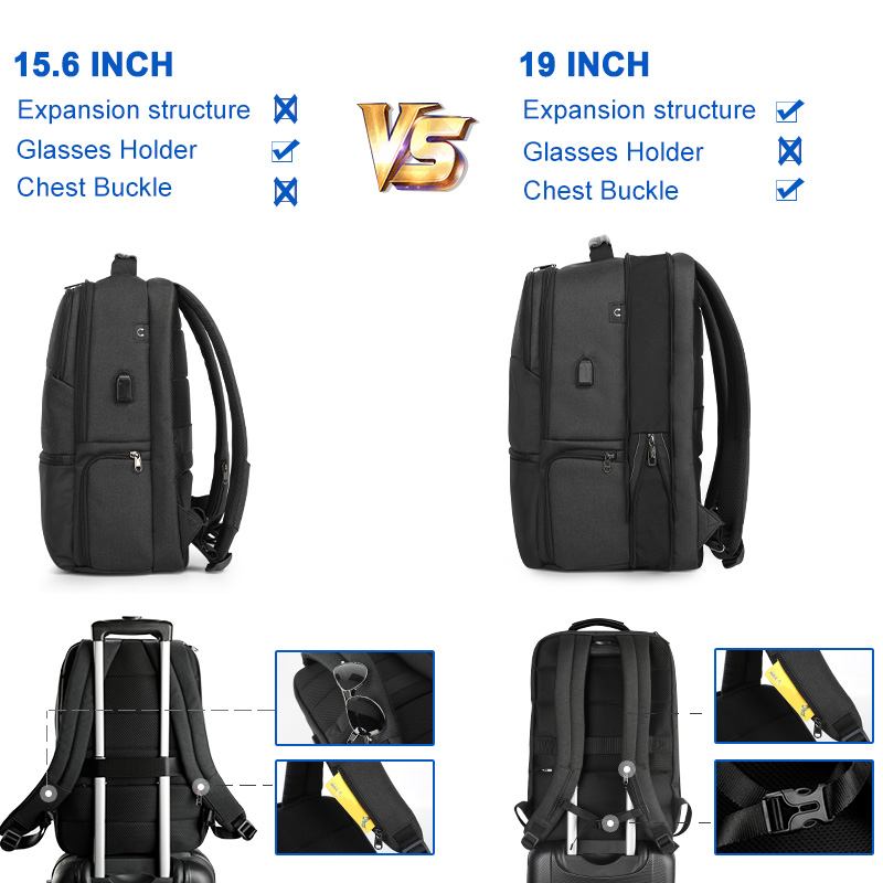 2019 New Arrival Large Capacity Travel 15.6