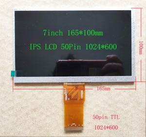 7-дюймовый IPS LCD HDMI 1024*600 USB сенсорный экран дисплей набор 165 мм * 100 мм для Raspberry Pi PS3 PS4