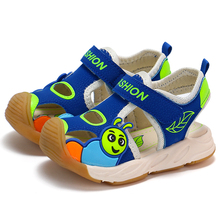 2020 summer kids shoes brand closed toe toddler boys sandals orthopedic sport pu leather baby boys beach sandals shoes B011 ulknn boys sandals soft leather closed toe toddler baby summer shoes boys and girls children beach shoes sport kids sandals