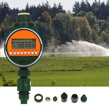 Garden Irrigation Faucet-Timer Programmable-Hose Rain-Sensor Digital Outlet with 3/4-1/2-Tap