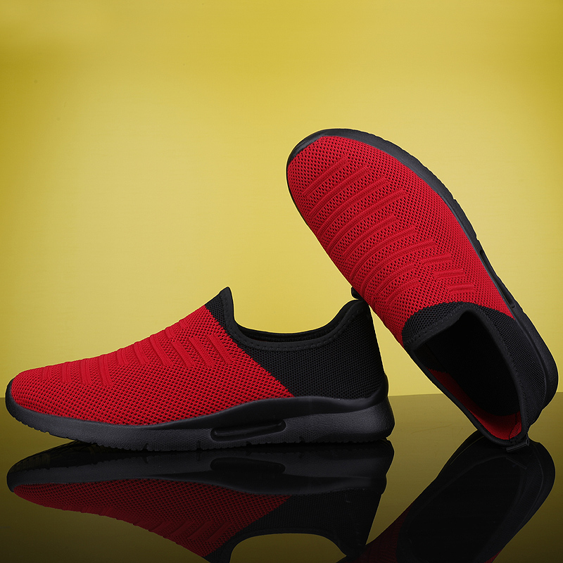 2020 Mens Casual Shoes Men Slip-on Sock Sneakers Breathable Light Leisue Walking Jogging Running Tenis Masculino Adulto 5