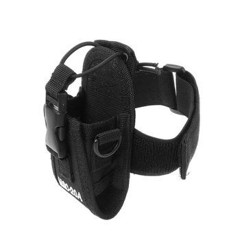 Adjustable Nylon Interphone Sheath Armband Tactical Bag Arm Band Armlet for Multiple Walkie Talkie Tactical Bag Use