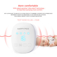 Electric Breast Pump Mute Large Suction Lithium Battery Rechargeable Pumping English Unisex AliExpress