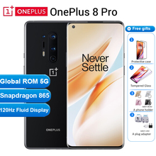 Internationl ROM Oneplus 8 pro 5G Mobile Phone 12GB 256GB /8GB 128GB 6.78″120Hz Snapdragon 865 30W 4510mAh NFC 5G Smartphone