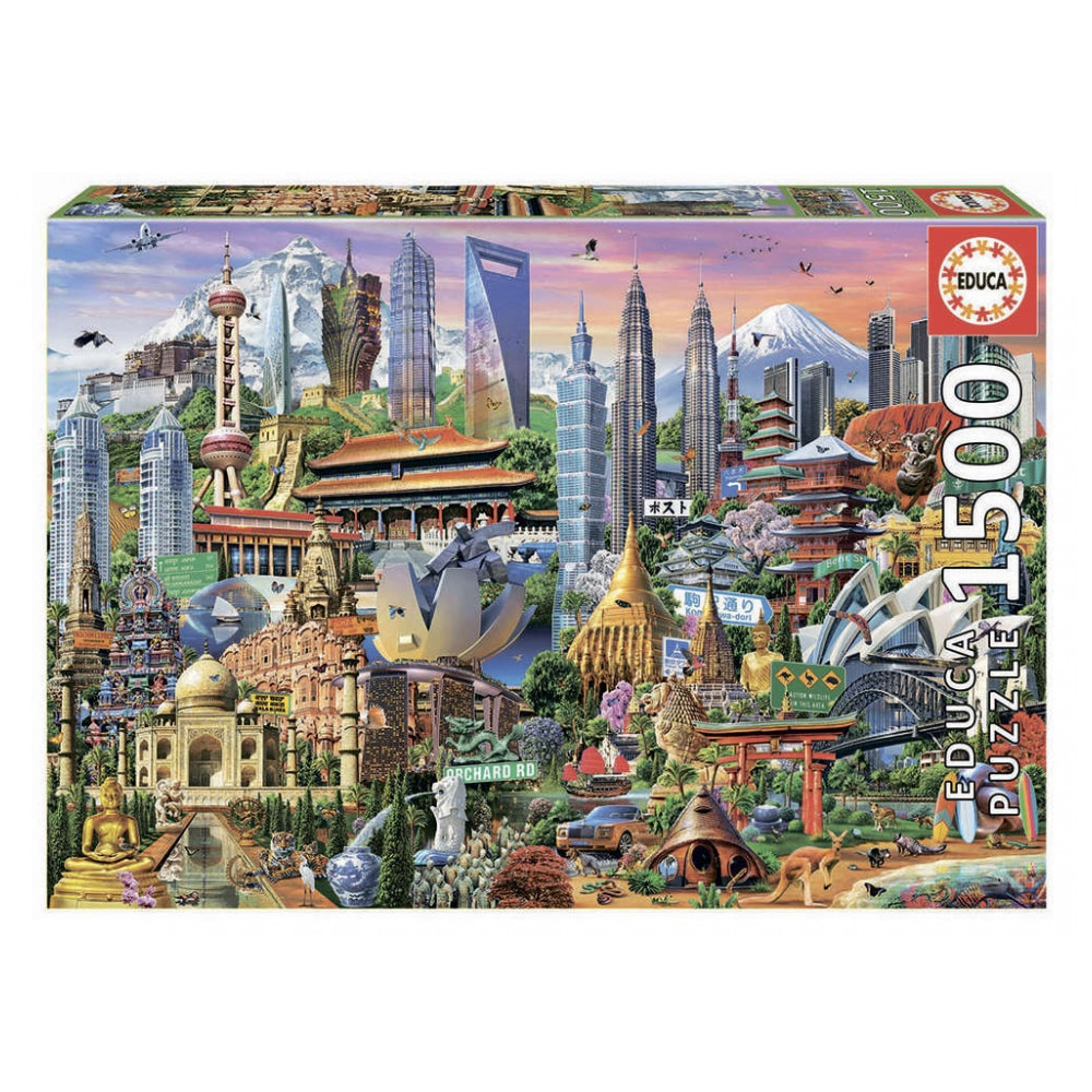 Toys & Hobbies Games and Puzzles Puzzles Educa 999760 паззл vintage puzzles