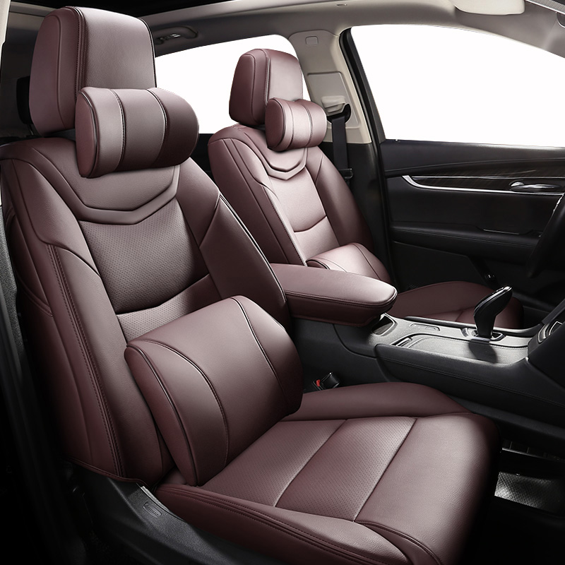 Custom Leather Car Seat Cover For Chevrolet Spark Cruze Captiva Camaro MALIBU Traxes AVEO Lova EPICA SAIL Car Accessories Car