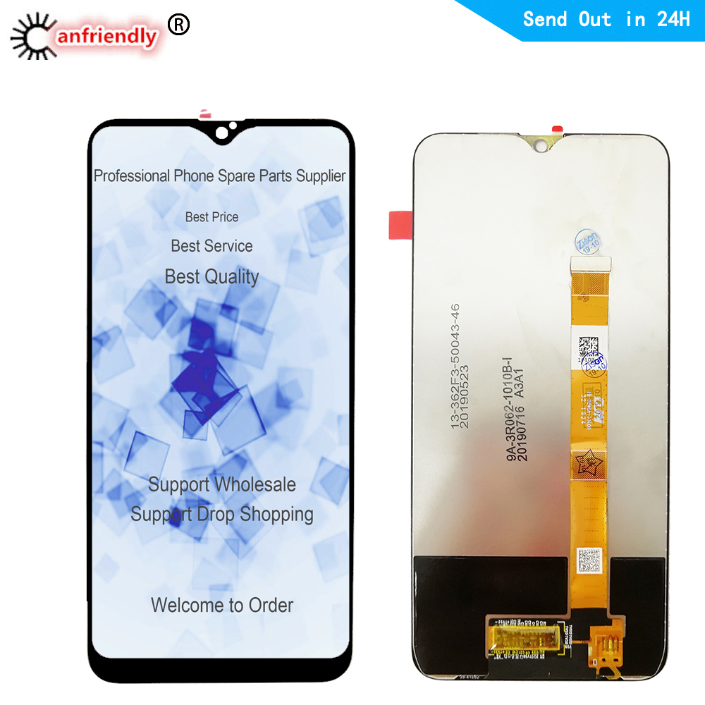 LCD For OPPO Realme C1 2 C2 3 Pro Q1 Realme 5 Q1 Realme 3 Pro LCD Display Touch Panel Screen Digiziter Sensor Assembly Lcds