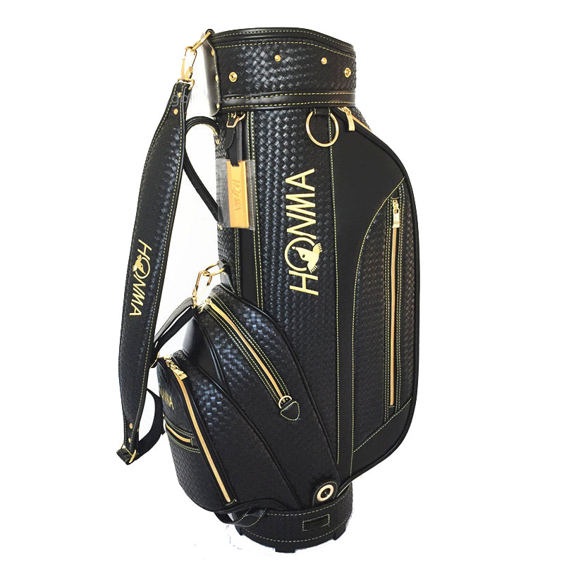 New Golf Bag HONMA PU Golf Clubs Bag 9 Inch Golf Standard Bag  In Choice Colour Golf Cart Bag Cooyute Free Shipping