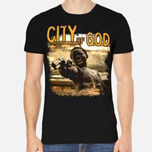 Cidade de deus leandro firmino alexandre rodrigues seu jorge camisa masculina 6-a-057legal casual orgulho t camisa masculina unissex moda tshirt
