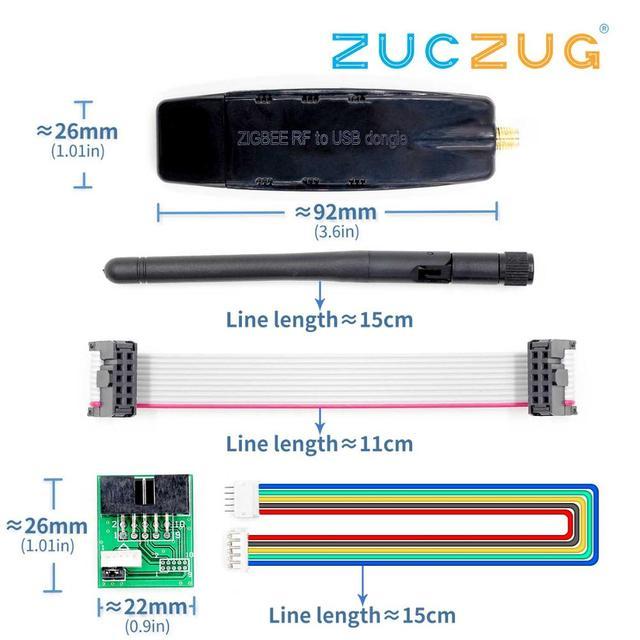 (CC2530/CC2531) زيجبي RF إلى USB شفافة المنفذ التسلسلي زيجبي انتقال الرقمية المعدات الصناعية الصف