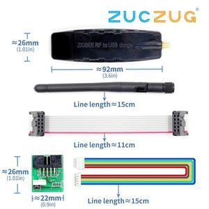 Image 1 - (Cc2530/cc2531) zigbee rf usb 투명 직렬 포트 zigbee 디지털 전송 장비 산업용 등급