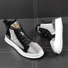 2020 Spring Casual High Shoes Fashion High Top Sneakers Zipp