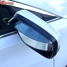สำหรับ Nissan X Trail T31 2008 2009 2010 2011 2012 2013 ประตูด้านข้างกระจกมองหลัง Rain GUARD Visor protector อุปกรณ์เสริม