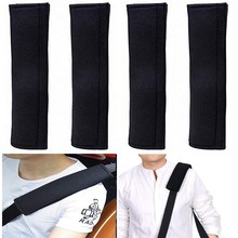 Universal Car Seatbelt Shoulder Strap Pad Soft Headrest Neck Support Pillow Cover Cushion,No Slip,No Rubbing-A Must Have for All(China)