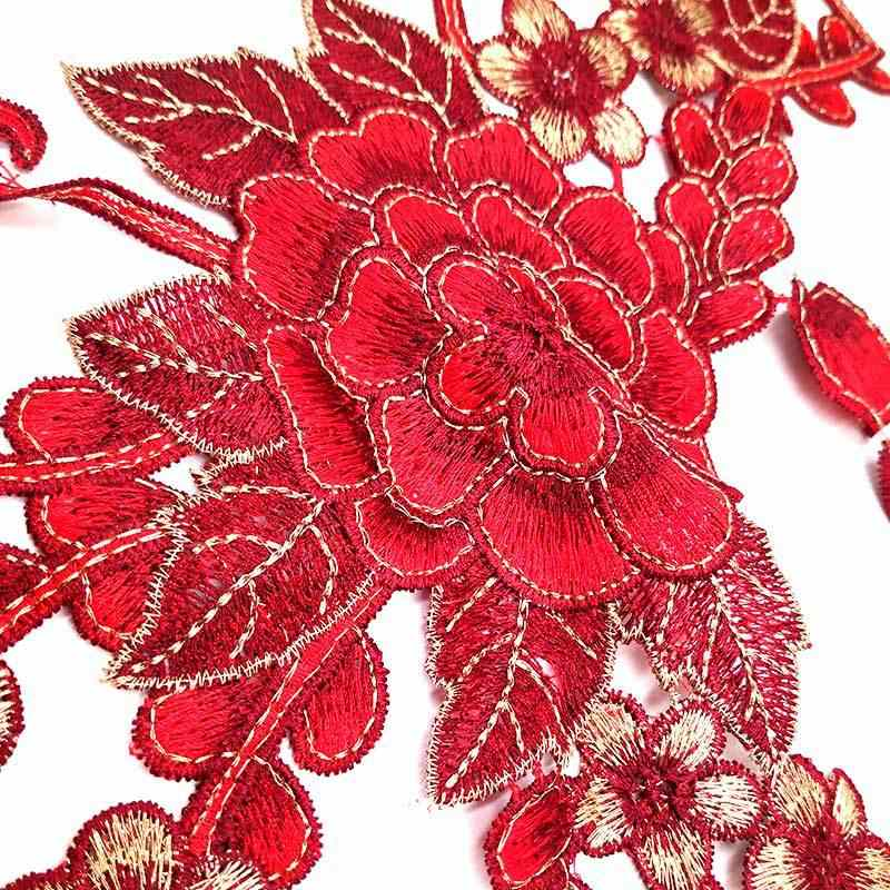 15 Стиль 3D Полые с цветочной вышивкой кружевной вырез DIY воротник кружевной воротник декоративная аппликация Швейные принадлежности Скрапбукинг