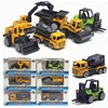1:64 alloy engineering car model farmer car excavator tank force control toy collection