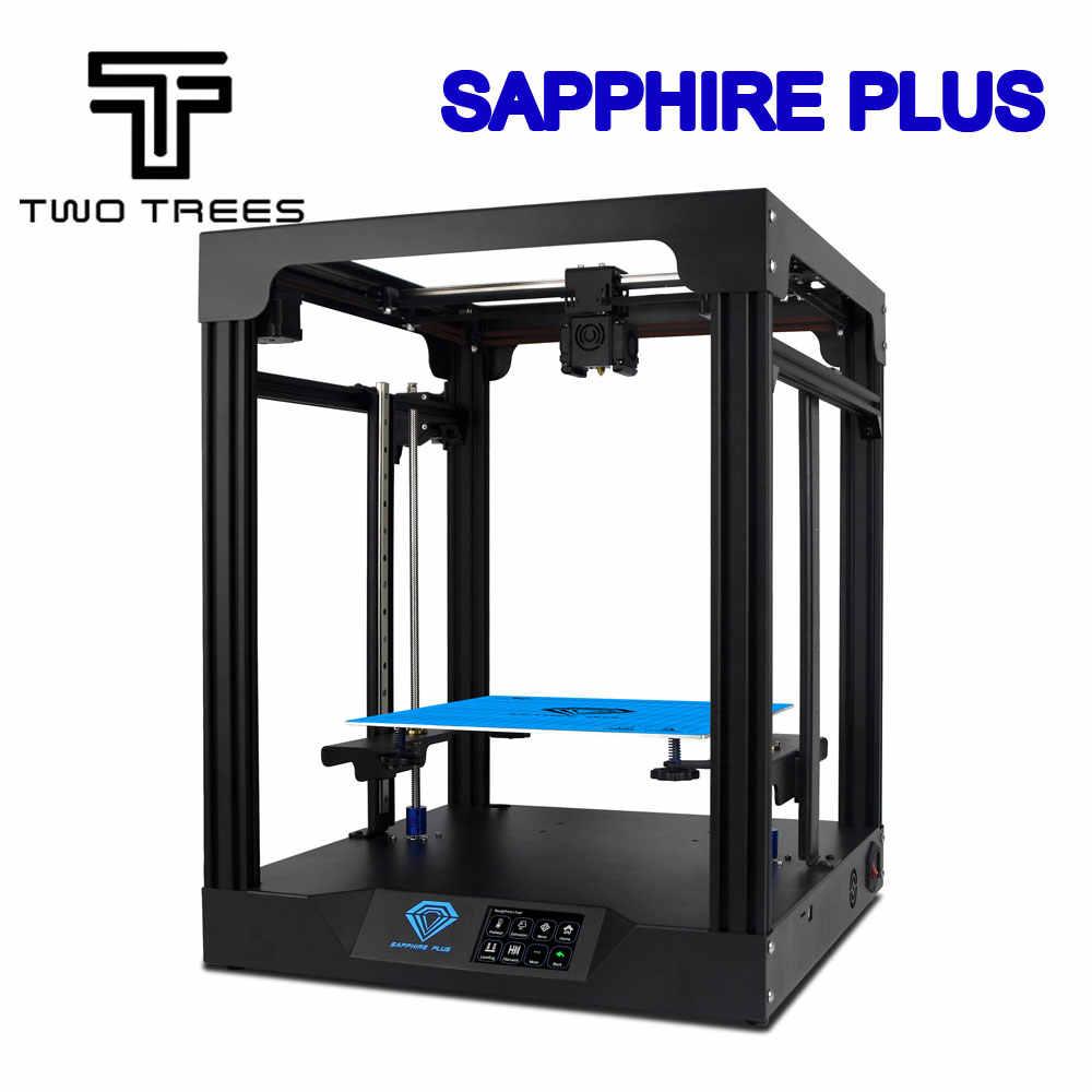 Deux arbres 3D imprimante saphir plus CoreXY BMG extrudeuse noyau xy 300*300*350mm saphir S Pro bricolage Kits 3.5 pouces écran tactile