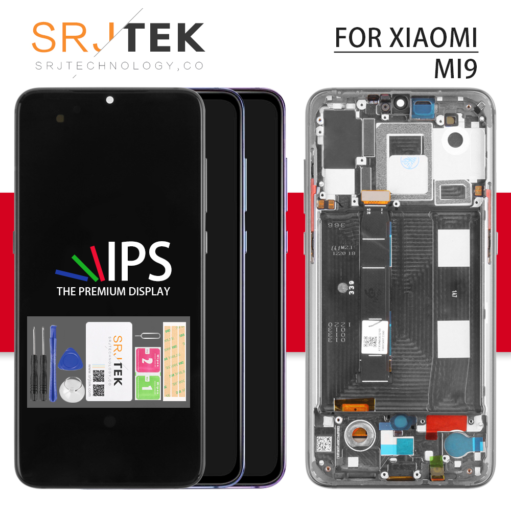 IPS For <font><b>Xiaomi</b></font> Mi 9 LCD Touch For <font><b>Xiaomi</b></font> <font><b>Mi9</b></font> Screen Digitizer Sensor For <font><b>Xiaomi</b></font> <font><b>Mi9</b></font> Glass For <font><b>Xiaomi</b></font> Mi 9 <font><b>Display</b></font> image