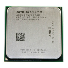 AMD Athlon II X4 640 3.0 GHz Quad-Core processeur d'unité centrale ADX640WFK42GM Socket AM3 938 broches bureau
