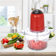 2020 New Oct 2L Automatic Powerful Meat Grinder Multifunctional Electric Food Processor Electric Blender Chopper EU/UK/US