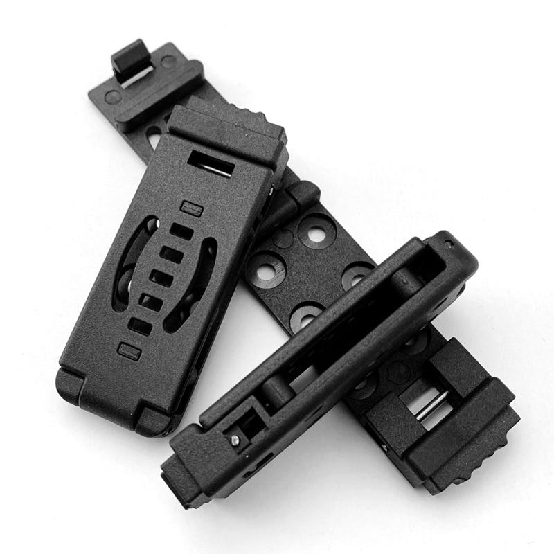 1 Piece KYDEX Making Gun Clip System K Sheath Clip Back Clip Scabbard Waist Clip KYDEX Accessories Carrying K Sheath Clip
