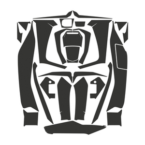 Image 5 - Forza350 2D Motorcycle Body Full Kits Decoration Carbon Fairing Emblem Sticker Decal For Honda NSS350 Forza 350 accessories 2021