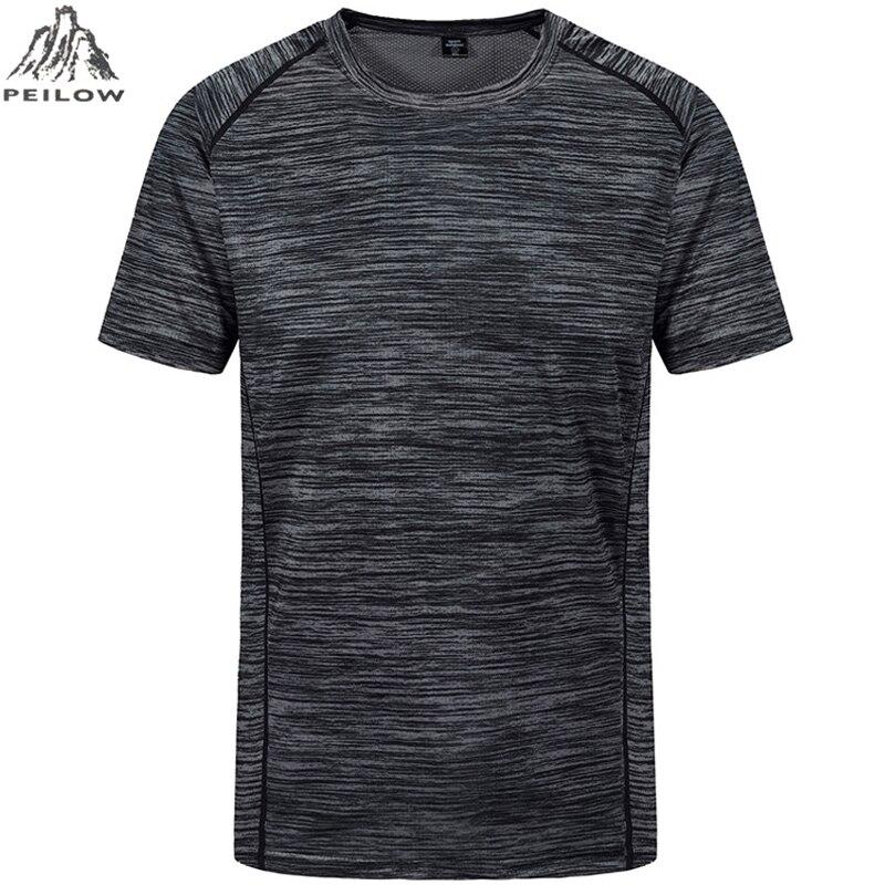 Plus Size 5XL 6XL 7XL L-8XL Summer Short   t     shirt   Men Moisture Wicking Athletic Male   t  -  shirt   Ice-cool tshirt men tee   shirts   Tees