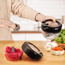 3 нож многофункциональная режущая машина мясорубка сломанная для чеснока, кухонный инструмент овощерезка