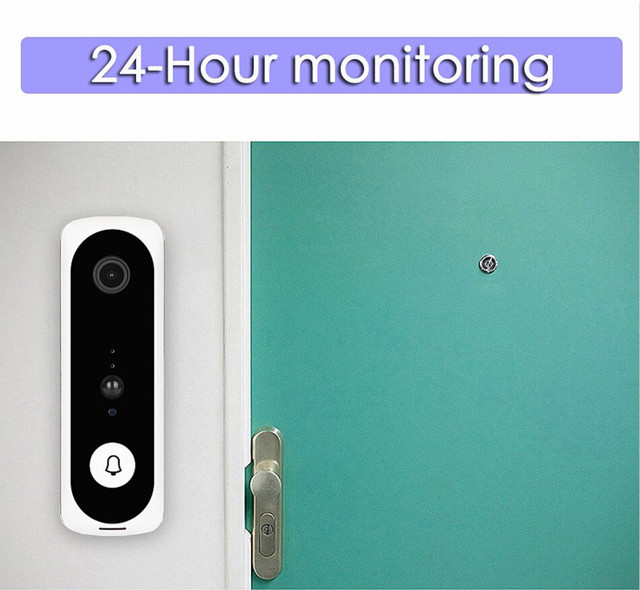 Smart WiFi Video Doorbell Camera V20 1080P HD Video Visual Ring Intercom with Night vision IP Door Bell Security Camera Doorbell