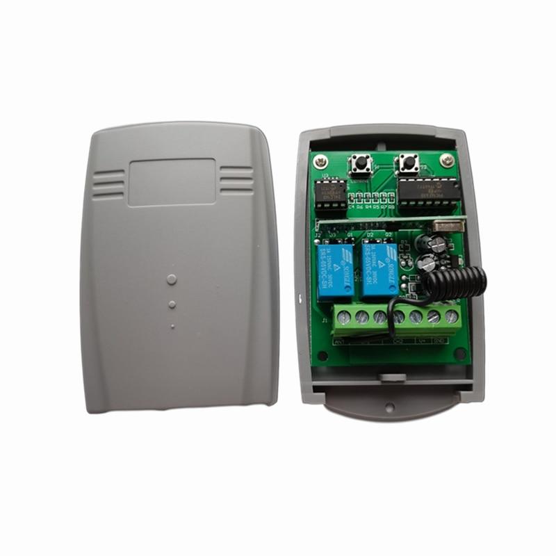 motorline professional falk remote cotrol 4 channels white black 433.92MHz