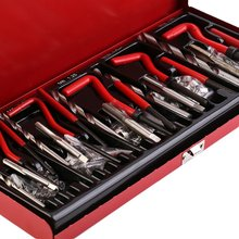 цены 131pcs/set Durable Thread Repair Tool sets Helicoil Rethread Repair Kit Garage Workshop Tool Professional Recoil Repair Tool