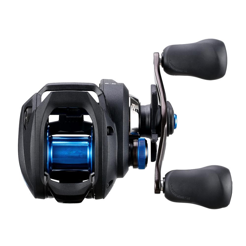 Image 5 - 2019 SHIMANO SLX DC 151 150HG 151HG 151XG  Baitcasting Fishing Reel HAGANE I DC4 Super Free Spool Low Profile Fishing TackleFishing Reels   -