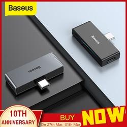 Adaptador Baseus L57 USB tipo c adaptador usb c a 3,5mm auricular auxiliar adaptador de auriculares con PD 18W de carga rápida para el teléfono tipo c Jack