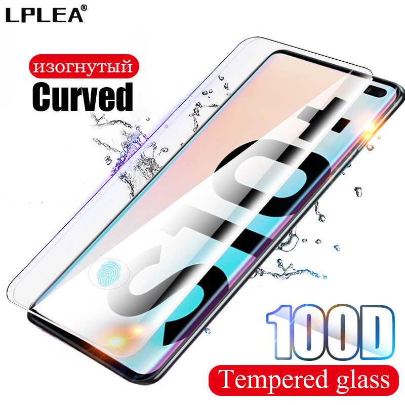 100D Curved Protective Glass For Samsung Galaxy Note 8 9 10 Plus Screen Protector For S10e S7 edge S8 S9 S10 Plus Tempered Glass