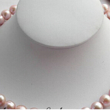 """810 17"""" round 12mm lavender freshwater pearl necklace"""