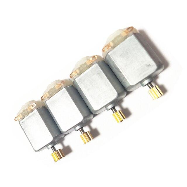 1,5 V-6 V 0.3A 16000RPM Mini DC motor Micro DC Motor para el bricolaje juguetes aficiones Motor de Automóvil inteligente 130 pequeño motor